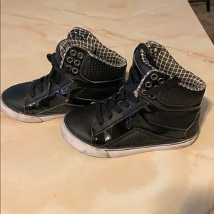 Boys High Top Shoes